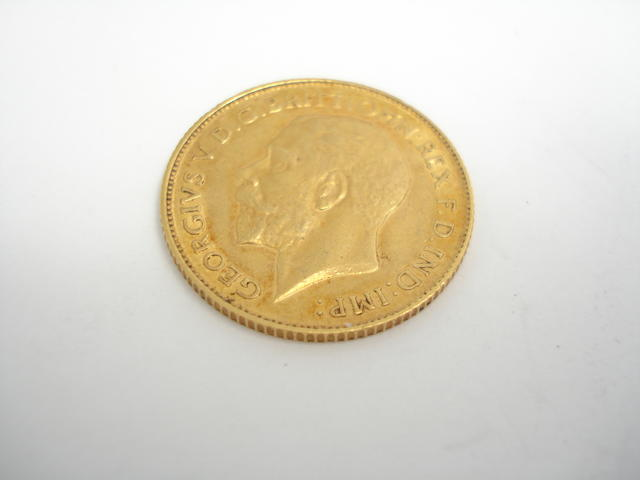 A half sovereign Dated for 1911