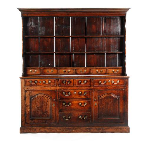 Geo III oak dresser