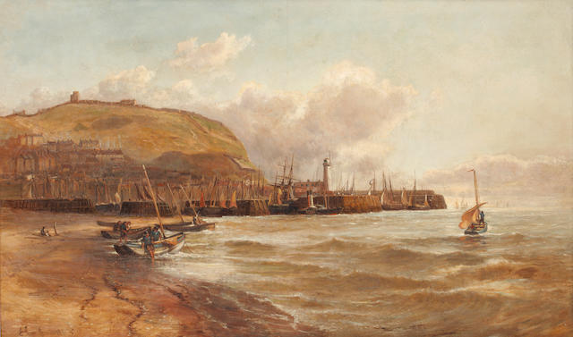 James Syer (British, active 1867-1878) Scarborough