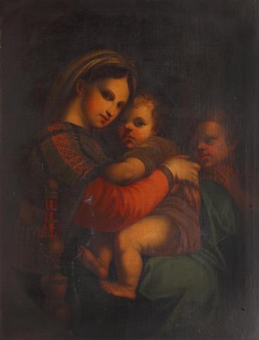 After Raffaello Sanzio, called Raphael Madonna della Sedia