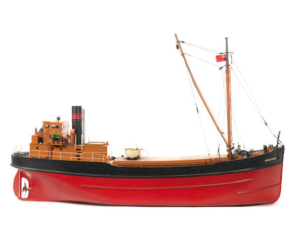 A radio controlled pond model of the cargo ship, Dondorrie