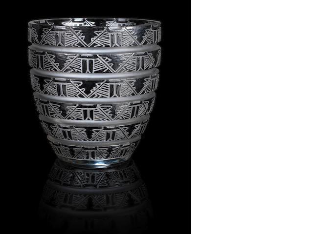 Lalique Lagamar vase (internal bruise)