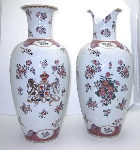 A pair of Samson vases Circa 1900