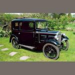 Property of a deceased's estate,1934 Austin Seven Saloon de Luxe  Chassis no. 192335 Engine no. B9 6043