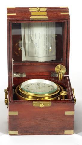 A late 20th century Russian Two Day ship's chronometer