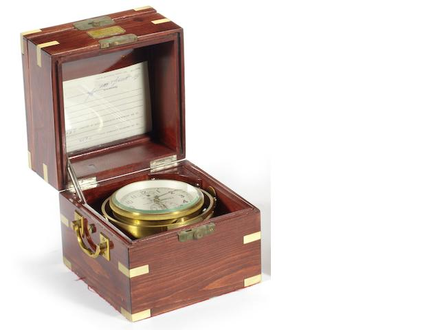 A late 20th century Russian ship's chronometer,