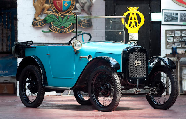 1927 Austin 'Chummy' Tourer  Chassis no. A4/5427 Engine no. 37739