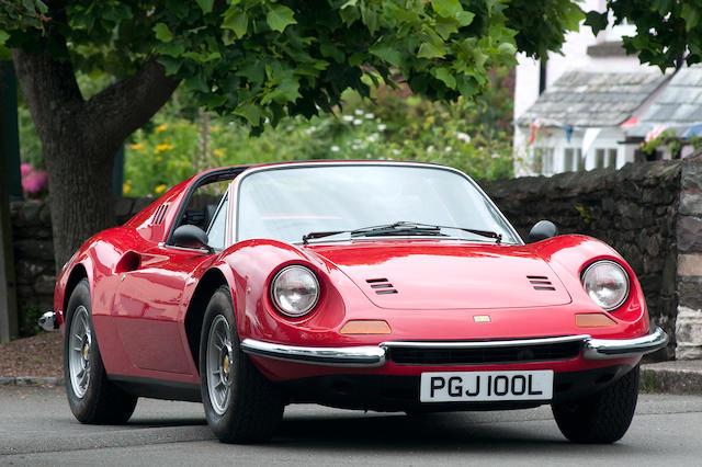 1972 Ferrari Dino 246GTS Spyder  Chassis no. 05404 Engine no. 05404