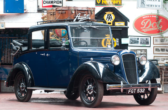 Austin 1935 Austin 12/4 Taxicab  Chassis no. 82431L
