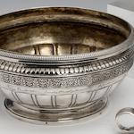 A  Russian silver presentation baluster bowl by Pavel Sazikov, Moscow 1834, assay master poorly struck