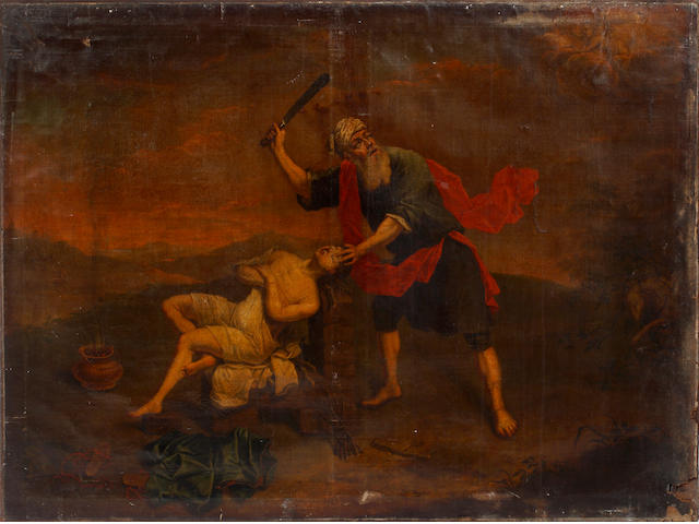 Flemish School, 18th Century The Sacrifice of Isaac (unframed)