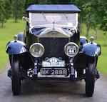 1921 Rolls-Royce 45/50hp Silver Ghost Drophead Coupé with Dickey  Chassis no. 9AG Engine no. O63