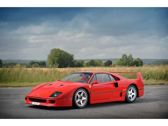 1989 Ferrari F40 Berlinetta