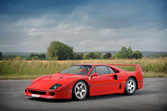 1989 Ferrari F40,