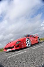 1989 Ferrari F40 Berlinetta  Chassis no. ZFFGJ34B000080774 Engine no. 18302