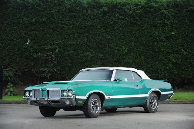 1970 Oldsmobile 4-4-2 Convertible  Chassis no. 3J67U2M144028