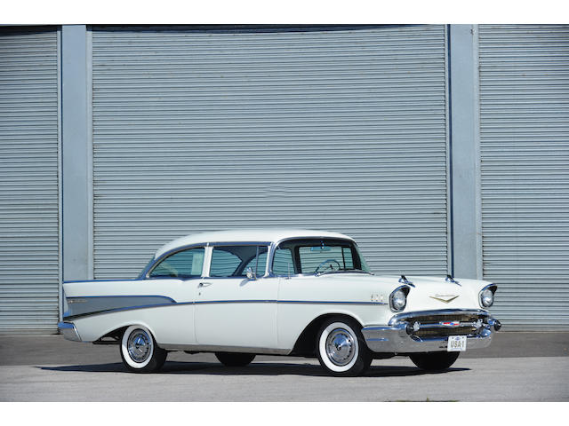 1957 Chevrolet Deluxe Bel Air Coupé  Chassis no. VC57K184045