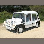 1989 Mini Moke  Chassis no. TW7XKFP3285882108 Engine no. 99H8838111696