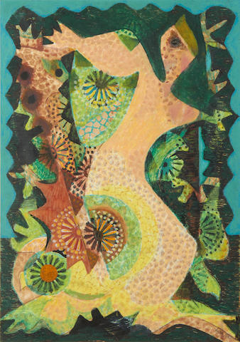 Eileen Agar (British, 1899-1991) The Whispering Wood