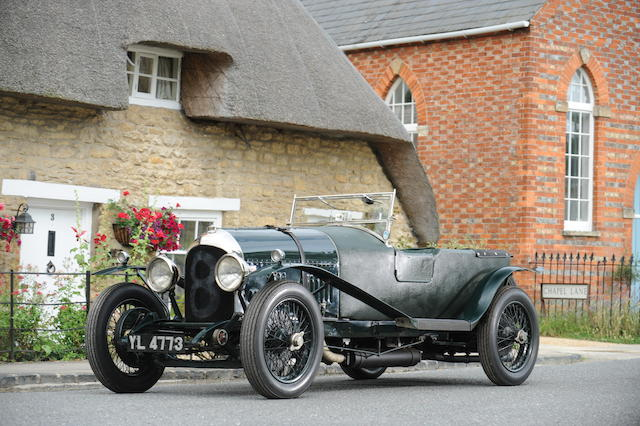 1925 Bentley 3/4½-Litre Speed Model Red Label Tourer  Chassis no. 1162 Engine no. SP 1407