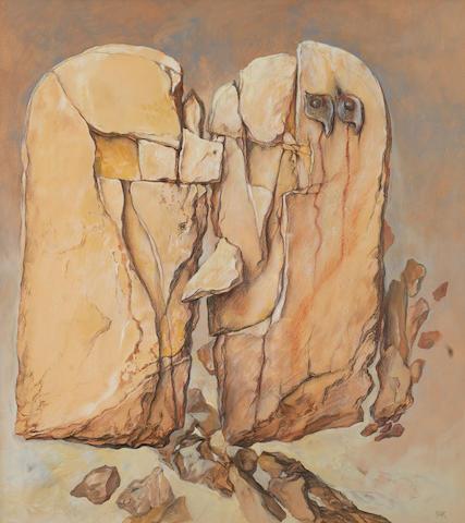 Samuel Bak (Israeli, born 1933) Composition