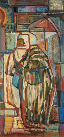 Sidney Goldblatt (South African, 1919-1979) A Moroccan street