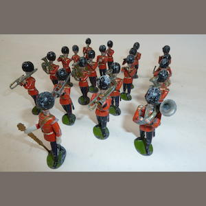 Britains set 37, Coldstream Guards Band 31