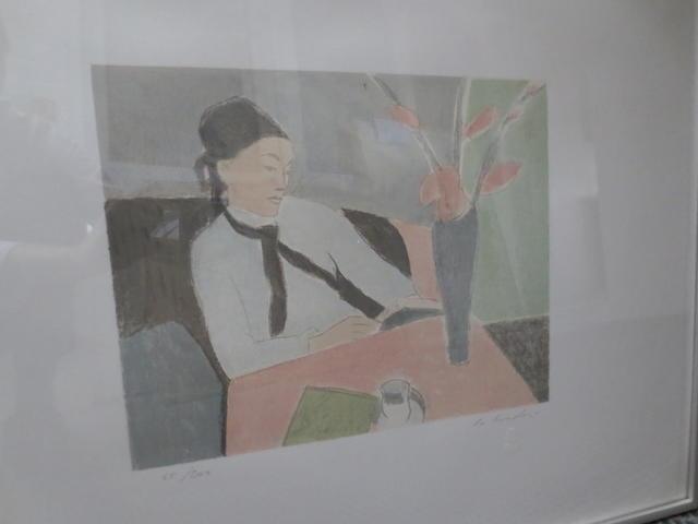Aldo Salvadori (Italian, born 1905) 'Donna Che Legge' and 'Nudo Seduto'