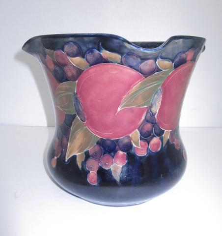 A William Moorcroft 'Pomegranate' jardiniere Circa 1920