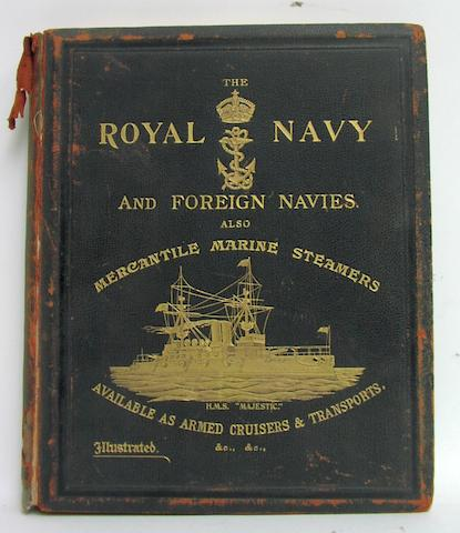 Frederick Gibbs: The Illustrated Guide to the Royal Navy and Foreign Navies
