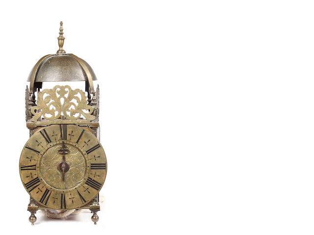 An early Georgian lantern clock by William Lee, Leicester