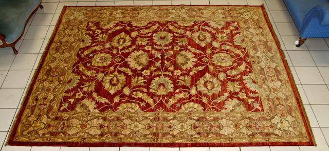 A Ziegler style carpet  318 x 249cm
