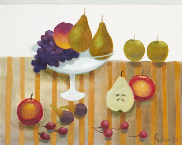 Mary Fedden R.A. (British, 1915-2012) Fruit