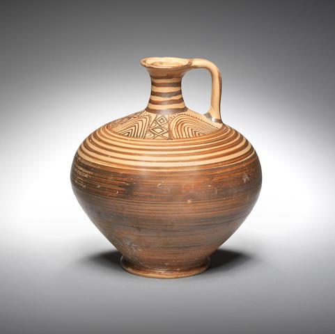 A Mycenaean pottery jug