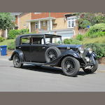 1933 Rolls-Royce 20/25hp Saloon  Chassis no. GHA31 Engine no. Q9Z