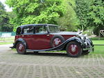1934 Rolls-Royce 20/25hp Saloon  Chassis no. GFE16 Engine no. S3D