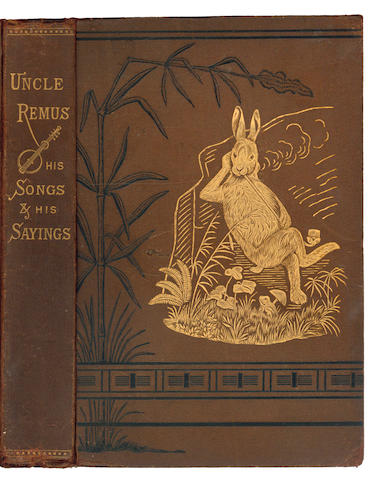 HARRIS (JOEL CHANDLER)  Uncle Remus: His Songs and His Sayings. The Folk-Lore of the Old Plantation, FIRST EDITION, first issue, 1881