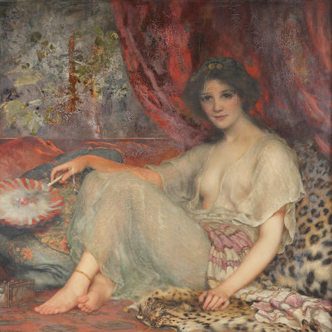 William Clarke Wontner (British, 1857-1930) Zorahayda