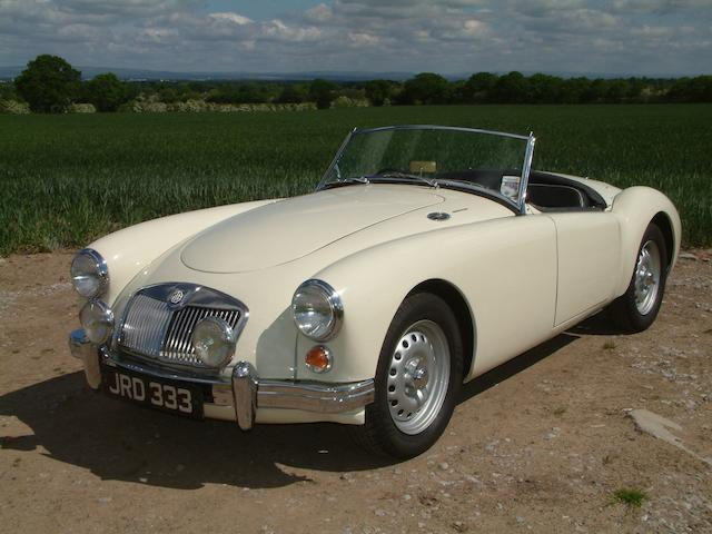 Tulip Rally Competitor 1959 & 1960 ,1959 MGA Twin Cam Roadster   Chassis no. YD1/1580