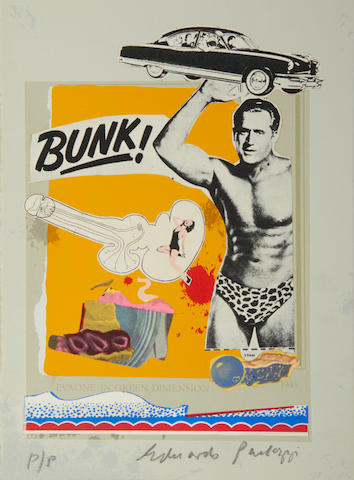 Sir Eduardo Paolozzi (British, 1924-2005) Bunk