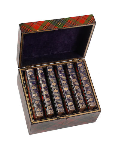 Box set of poetical works of Sir Walter Scott - subject to inspection