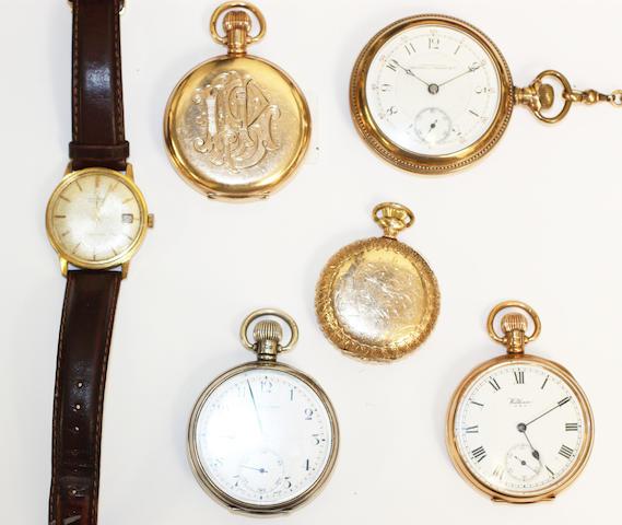 Omega: A gentleman's Seamaster wristwatch, (15)