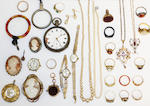 A large collection of jewellery and watches, (quantity)