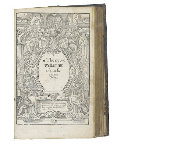 BIBLE, 1574, in English, Bishops' version