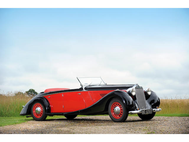 Originally the property of Margaret Lockwood,1938 Delage D6-70 Tourer  Chassis no. 51558 Engine no. 359