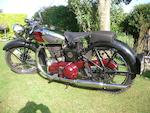 c.1937 Royal Enfield 499cc JF Bullet Frame no. 25923 Engine no. JF2454