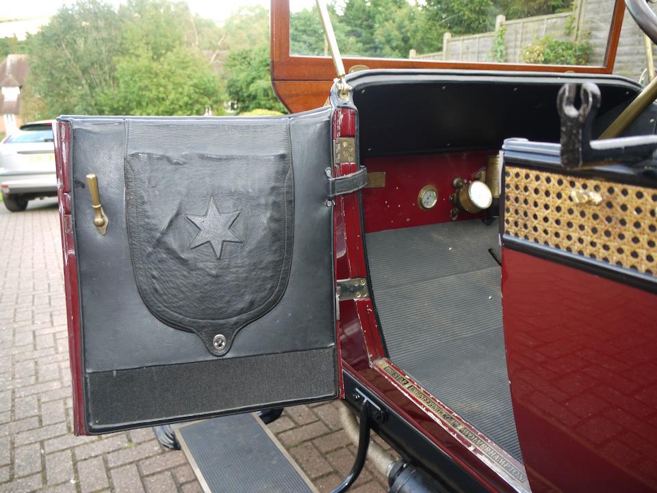 1910 Star 15hp Tourer  Chassis no. 2471 Engine no. 521P