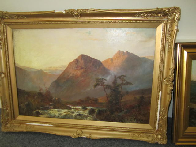 C*** McKinley (British Scotish Landscape 40x60cm.