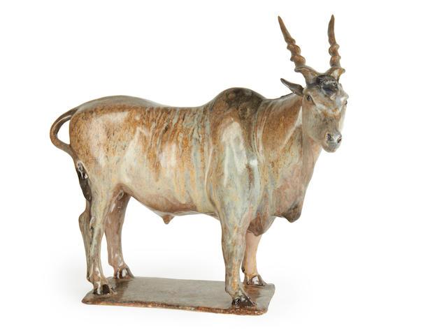 Christine Suzman (South African, born 1945) Eland bull 40.5cm (15 15/16in) high