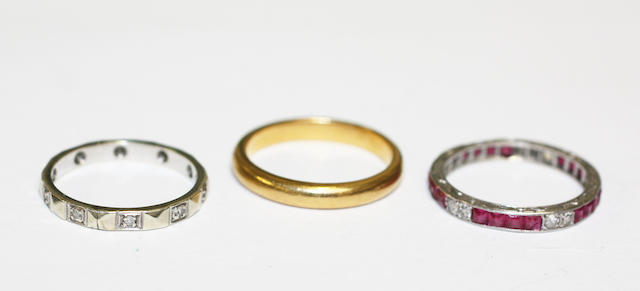 Three rings, (3)